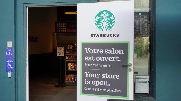 French Starbucks
